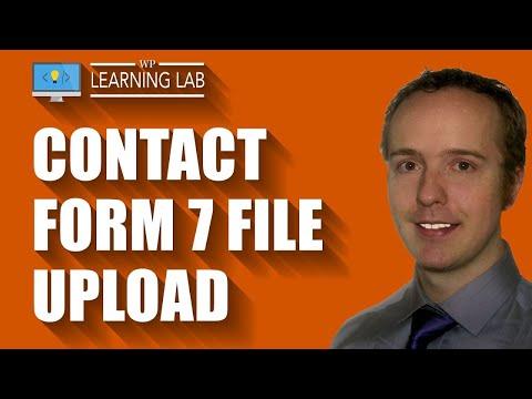 Contact Form 7 File Upload Field Tutorial 📗  | Contact Form 7 Tutorials Part 10
