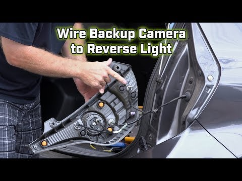 Boyo rear view camera wiring diagram rear camera view back up camera wiring how to wire to the brake light asfbconference2016 Gallery