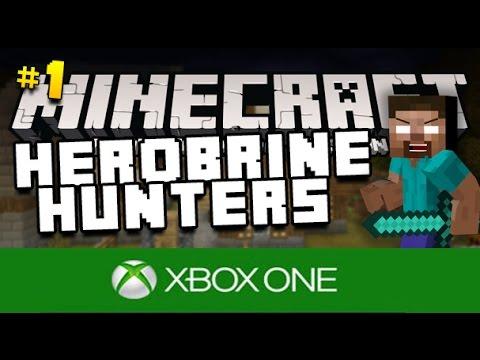 Minecraft Xbox One - Herobrine Hunters - Part 1 - HEROBRINE SPAWNER ( MC Xbox One Edition )
