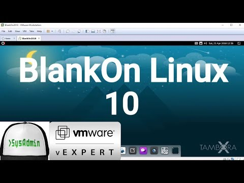 How to Install BlankOn Linux 10 Tambora + VMware Tools + Review on VMware Workstation [2018]