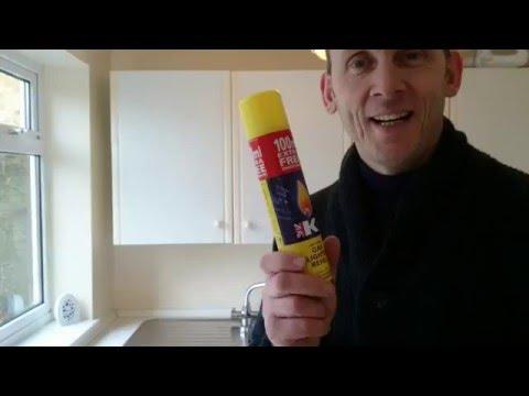K2 gas lighter fluid topup demo