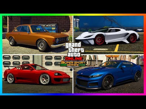 GTA 5 Online DLC Update ALL 11 NEW Unreleased Super Cars/Vehicles - Prices, Release Schedule & MORE!