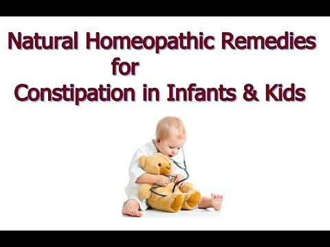 Natural Homeopathic Remedies for Constipation in Infants & Kids