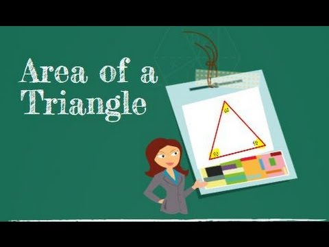 How to find the area of a triangle using Heron's formula
