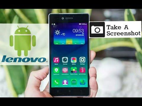 How to take a screenshot on Lenovo phones [Any model]
