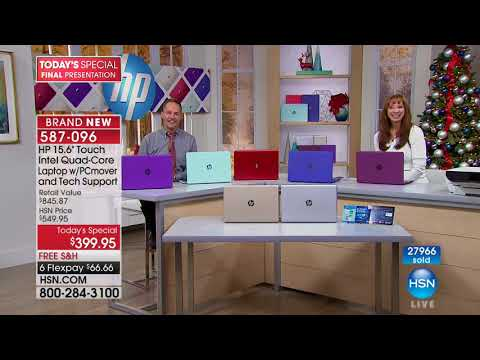 HSN | HP Electronic Gifts 11.05.2017 - 10 PM