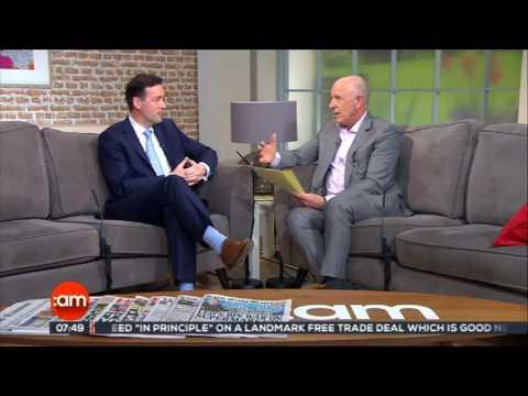 Ireland AM - PAYE Tax Interview with Barry Flanagan