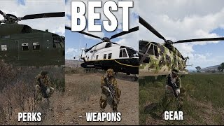 Best Gear, Weapons & Perk Loadout - Arma 3 King Of The Hill