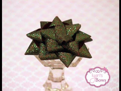 How to Make a Christmas Present Bow