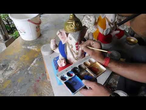 Paper Mache Ganesha from AVANTI KALAGRAM