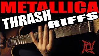 Top10 Metallica Thrash Riffs