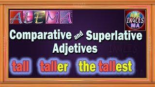 Download Adjetivos Comparativos Y Superlativos En Ingles - Reglas y Oraciones   Lección # 28 Video