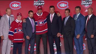 Canadiens draft two-way centre Poehling with25th pick