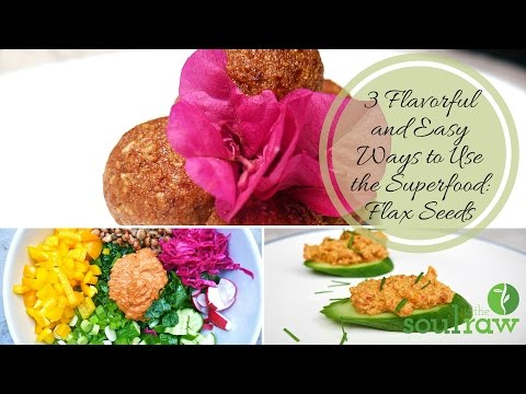 Flaxseed Recipes: 3 Easy Vegan Ways to Eat Flaxseeds Daily