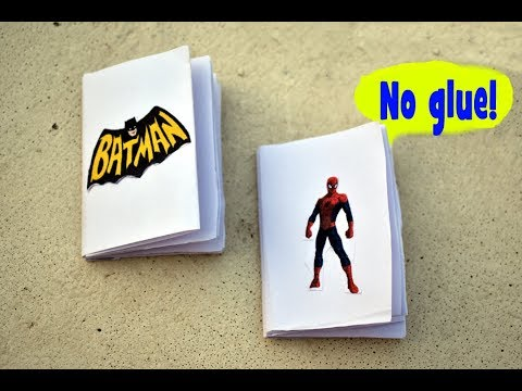 how to make a mini modular origami book | single paper book made from paper homemade diy paper book