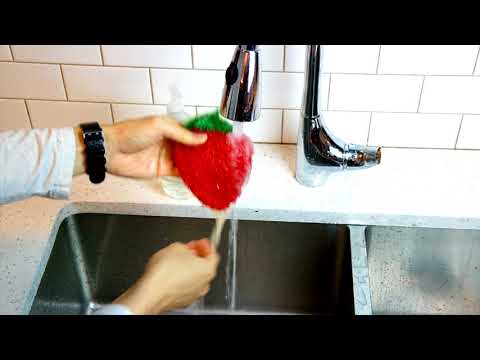 Dish Scrubbie ™ Fruit Shaped Crochet Dish Scrubbies Multiple Uses