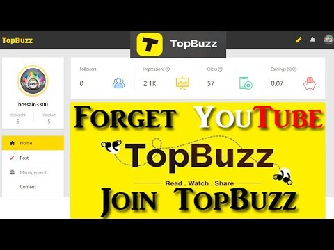 How to create an account in TopBuzz ( Part –  2 ) Bangla Tutorial