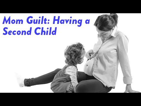 Mom Guilt -- Having a Second Child | CloudMom