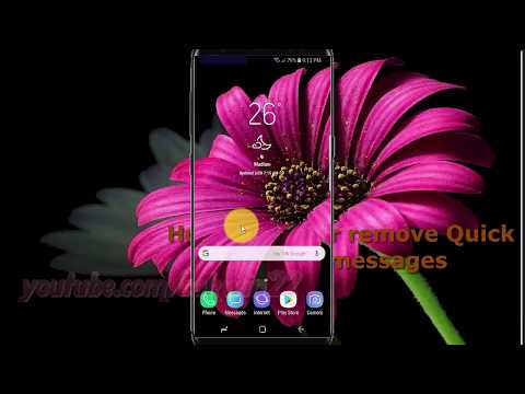 Samsung Galaxy S9 : How to Add or remove Quick decline messages (Android Oreo)