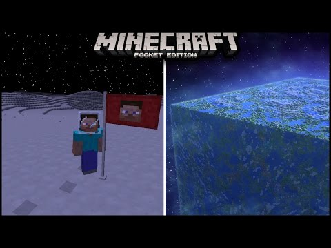 Use Command Block To Go To Space In Minecraft Pocket edition | minecraft pe ( mcpe ) | galaticcraft