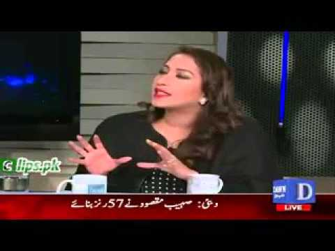 Why You Called Me in Your Show   Hot Debate Between Mehar Abbasi & Muhammad Zubair