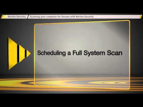 How to run scan on Norton Security for Virus, Spyware, and Security Threats