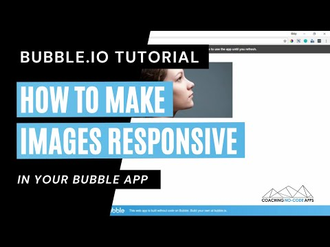 How to Make Images Responsive in Bubble.is