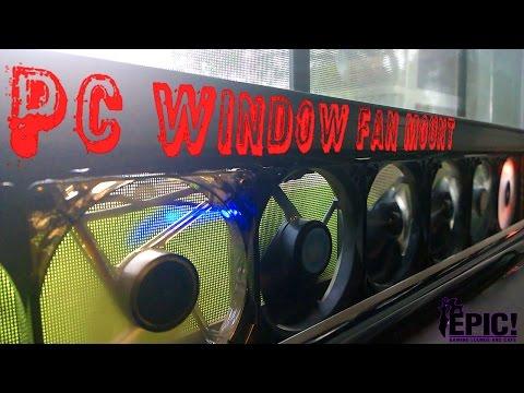 Window Pc Fan Mount - TechLife