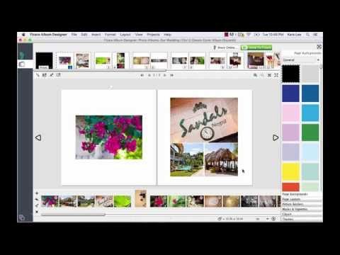 Share Your Wedding Album Design Project Online