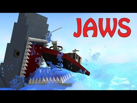 Minecraft   JAWS SHARK MOD Showcase! (Shark Attack, Jaws, Sharks)