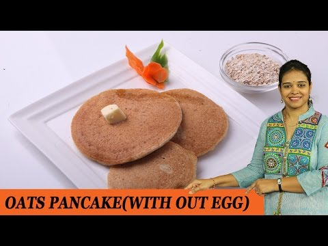 OATS PAN CAKE - Mrs Vahchef