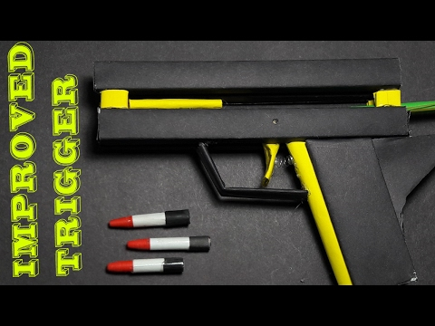 |DIY| How To Make A Paper 'Dirty Thunderstorm Gun' That Shoots-Toy Weapons- By. Dr. Origami