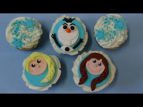 how to make cupcakes frozen