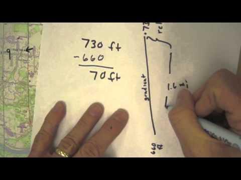 Calculating Gradient: Grandville Quadrangle