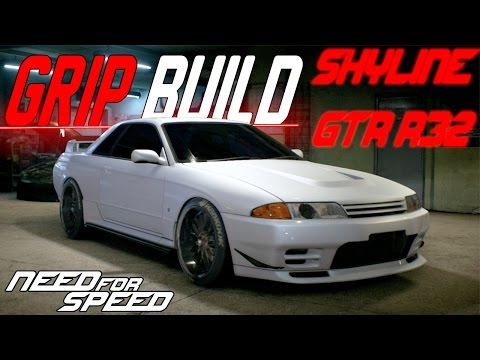 Need For Speed 2015 : SUPERCHARGED STANCED  Nissan Skyline GT-R R32 Customization & Grip Build