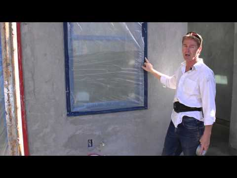 Vinyl Tape for covering windows, protect windows from stucco