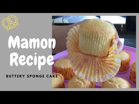 Mamon Butter Sponge (Super Soft Cupcakes)