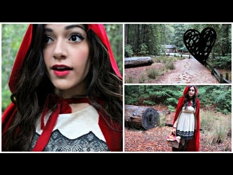 Little Red Riding Hood DIY Halloween Costume! + Make your own cape!