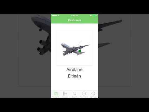 Learn Irish (Gaelic) with Irish (Gaelic) Flashcards iOS App