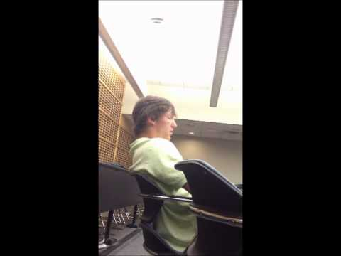 Student Falling Asleep in Class