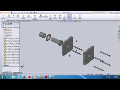 SolidWorks Tutorial|Drawing & Drafting Workbench - 2