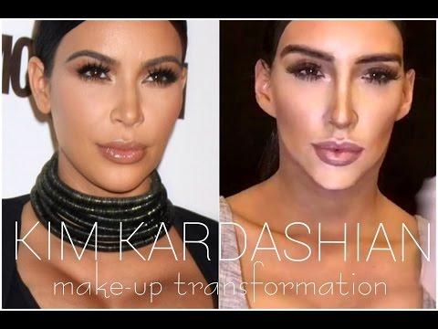 KIM KARDASHIAN make-up TRANSFORMATION!!! 💋