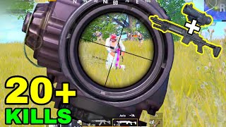 New Full Auto MK14 Gameplay! | MK14 + 6X Scope No Recoil | PUBG Mobile