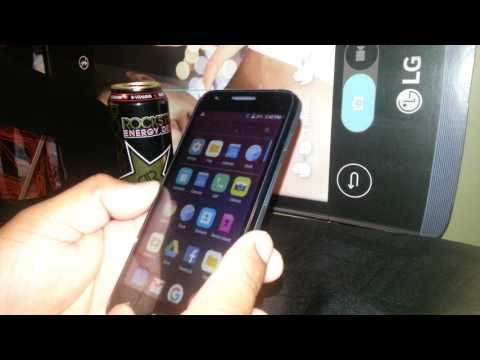 Set up lock screen on Alcatel PIXI4 Model 4060W how to lock screen with password patter PIN