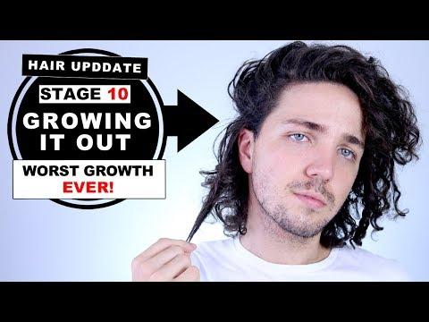 Hair Update   Stage 10 Growing My Hair Out - Undercut Man Bun to Full Man Bun