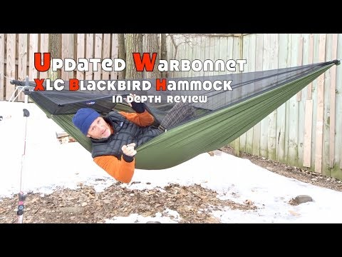 Updated Warbonnet XLC Blackbird Hammock In-Depth Review