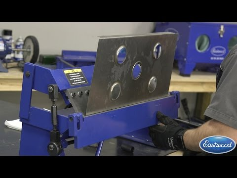 How To Use a Pan Brake to Make a Battery Tray.  Eastwood