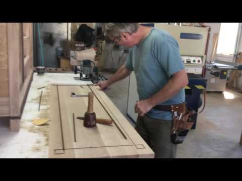 In The shop with John Lomas - Table Top Inlay