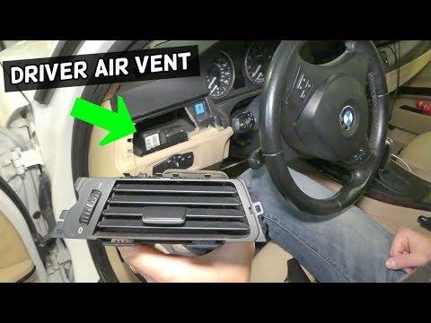 HOW TO REMOVE AND REPLACE LEFT DRIVER AIR VENT BMW E90 E92 E91 E93