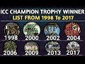 Download ICC Champion Trophy Winners List From 1998 To 2017 | Champion Trophy Winners MP3,3GP,MP4